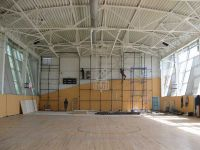 Установка скалодрома в спортзале