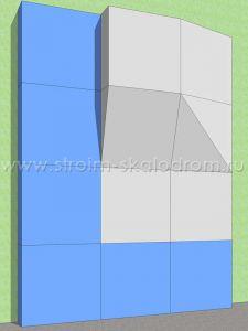 Модульный скалодром. Проект 1.1
