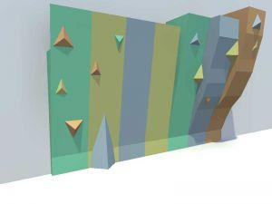 Проект дизайна развлекательного скалодрома