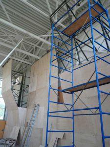 Строительство детского (школьного) скалодрома в спортзале
