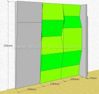 3d-модель детского скалодрома
