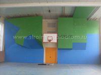 Скалодром в спортзале МФТИ