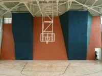 Строительство скалодрома в спортивном зале ФОК