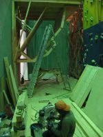 Начало строительства боулдерингового зала скалодрома RedPoint