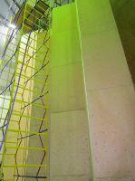 Стенка для скалолазания перед покраской