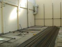 Начало строительства скалодрома Скалатория
